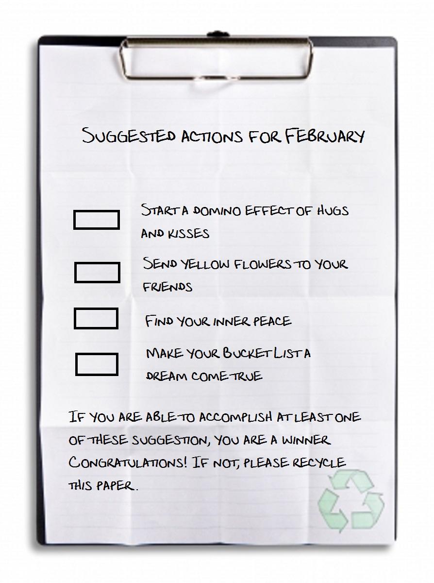 Febrero lista